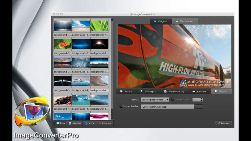 ImageConvertPro for Mac - review, screenshots