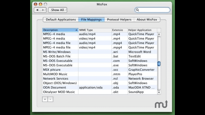 MisFox for Mac - review, screenshots