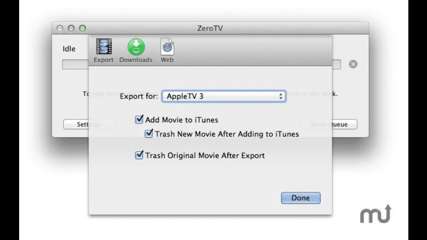 ZeroTV for Mac - review, screenshots
