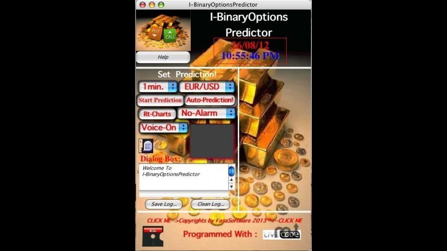 I-BinaryOptionsPredictor for Mac - review, screenshots