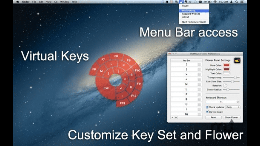 Hot Mouse Flower for Mac - review, screenshots