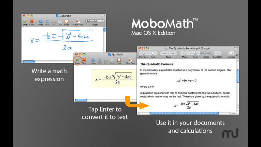 MoboMath for Mac - review, screenshots