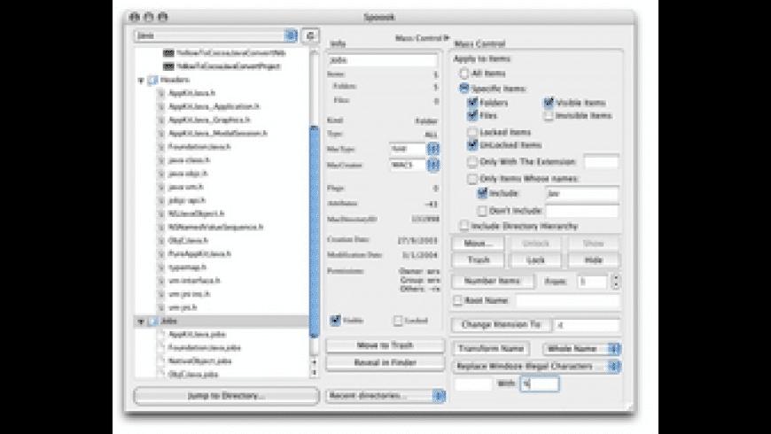 Spoook for Mac - review, screenshots