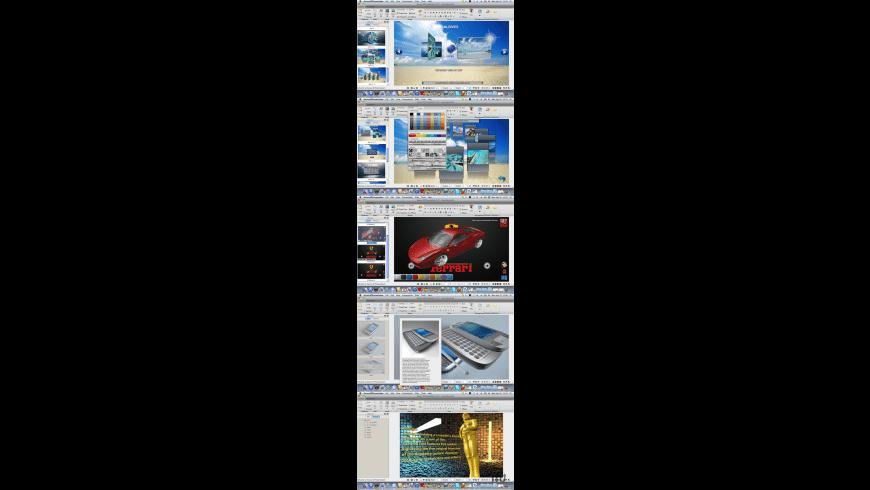 Aurora 3D Presentation for Mac - review, screenshots
