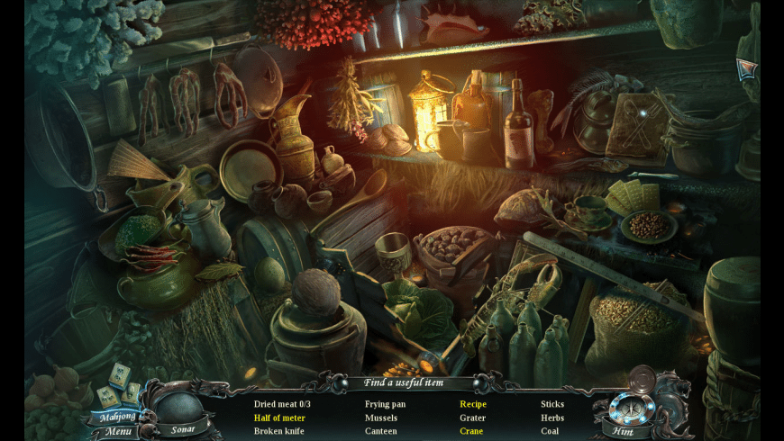 Nightmares From The Deep: The Cursed Heart for Mac - review, screenshots