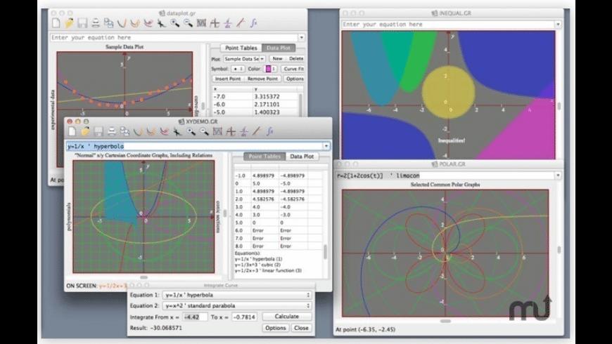 Graphmatica for Mac - review, screenshots