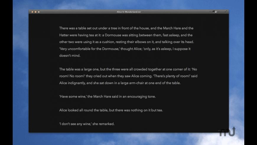 Writedown for Mac - review, screenshots