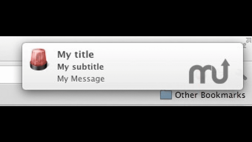 Notifications Scripting for Mac - review, screenshots