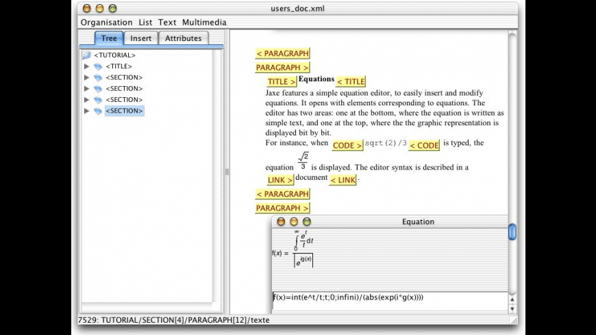 Jaxe for Mac - review, screenshots