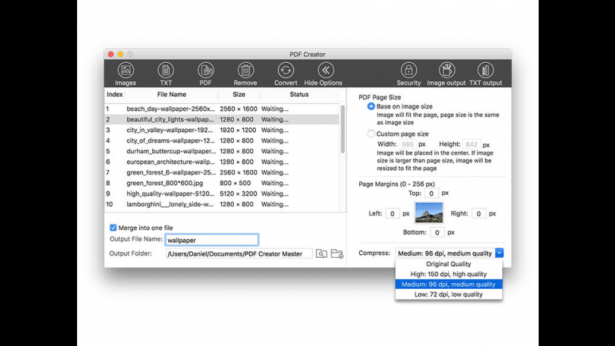 PDF Creator for Mac - review, screenshots