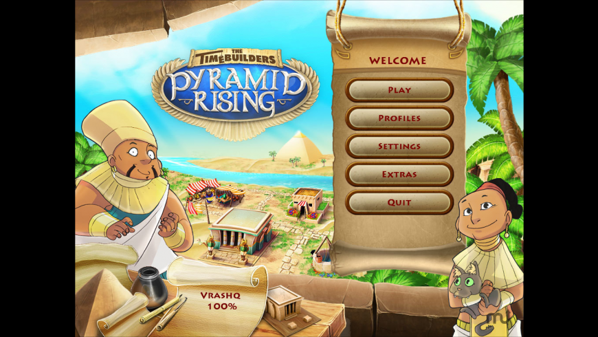 The TimeBuilders - Pyramid Rising for Mac - review, screenshots