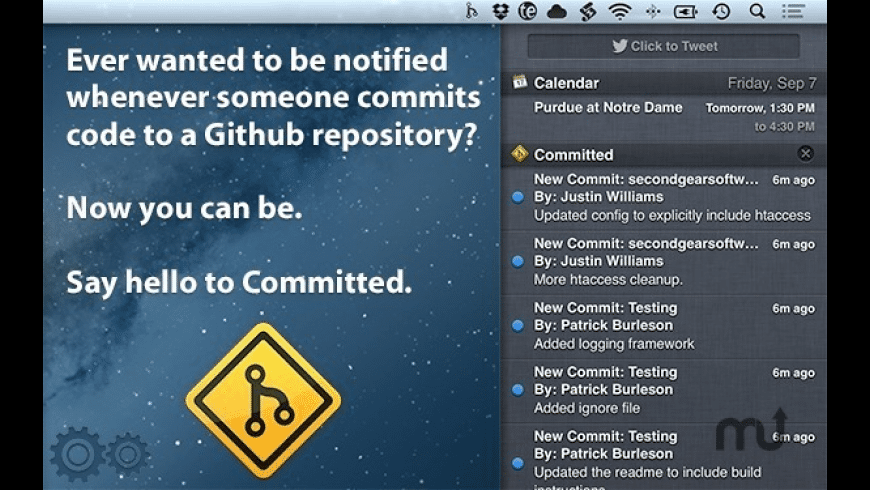 Committed for Mac - review, screenshots