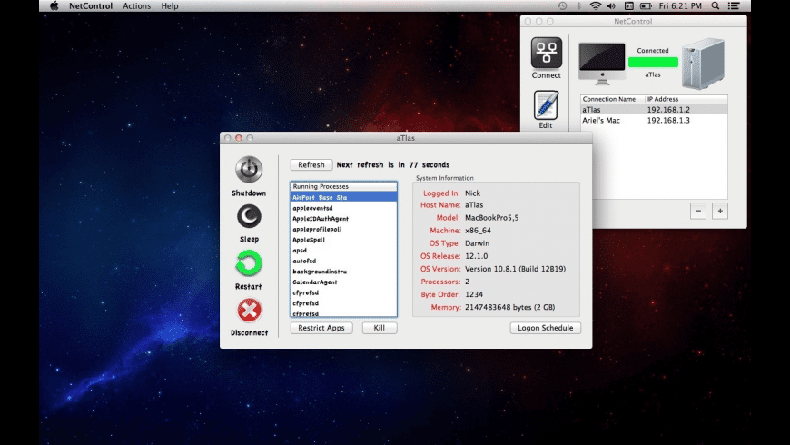 NetControl for Mac - review, screenshots