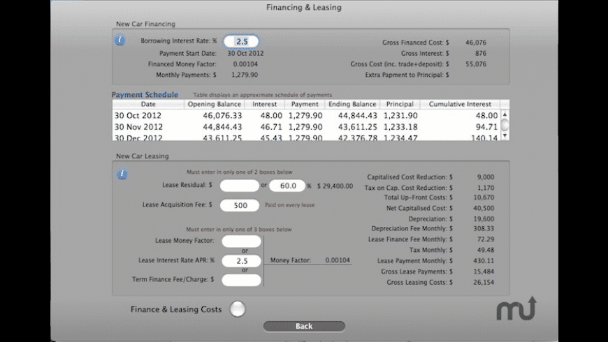 Buy Lease Keep for Mac - review, screenshots