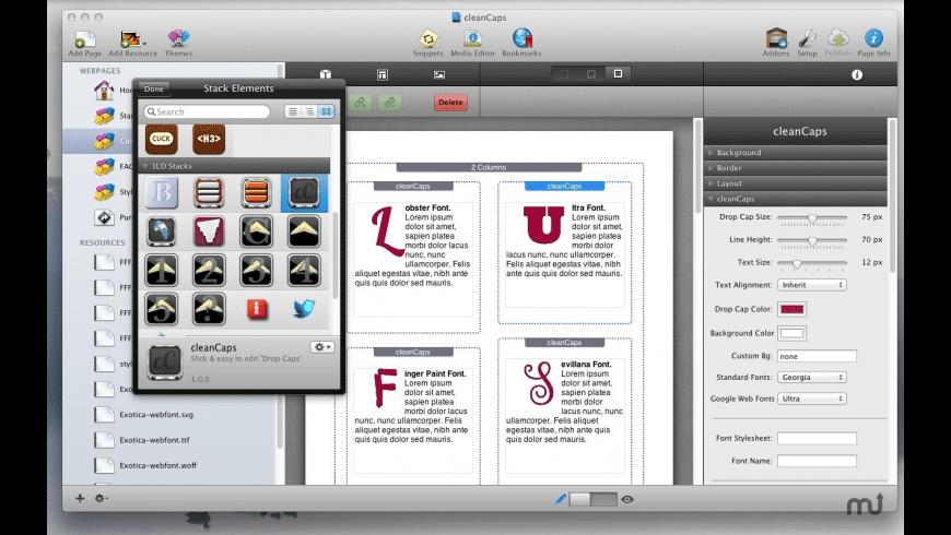 cleanCaps for Mac - review, screenshots