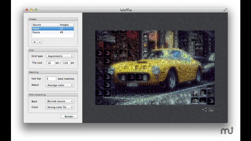 Waffle for Mac - review, screenshots