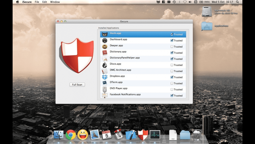 iSecure for Mac - review, screenshots