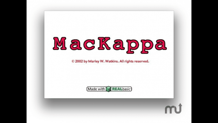 MacKappa for Mac - review, screenshots