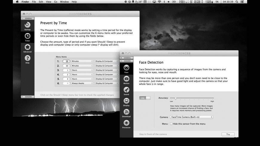 Should I Sleep for Mac - review, screenshots