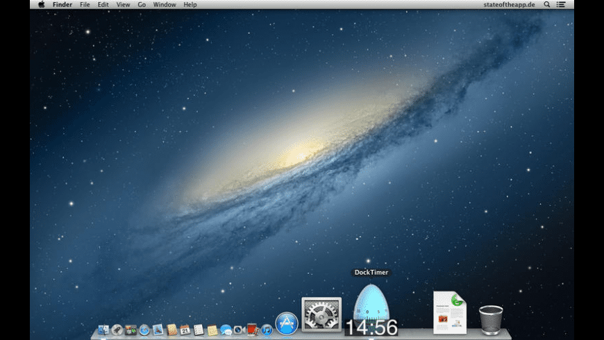 DockTimer for Mac - review, screenshots