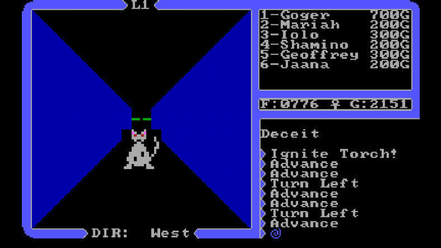 Ultima 4: Quest of the Avatar for Mac - review, screenshots