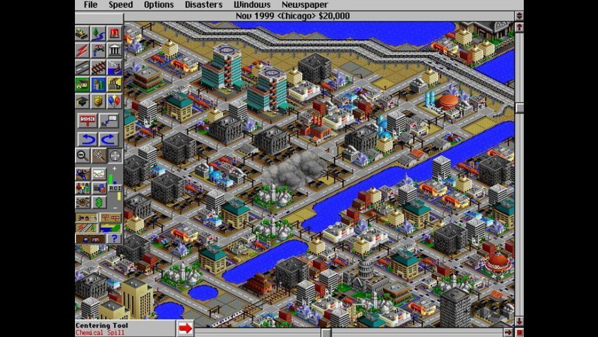 SimCity 2000 for Mac - review, screenshots