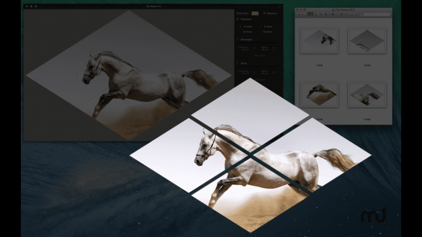 Tile Photos FX for Mac - review, screenshots