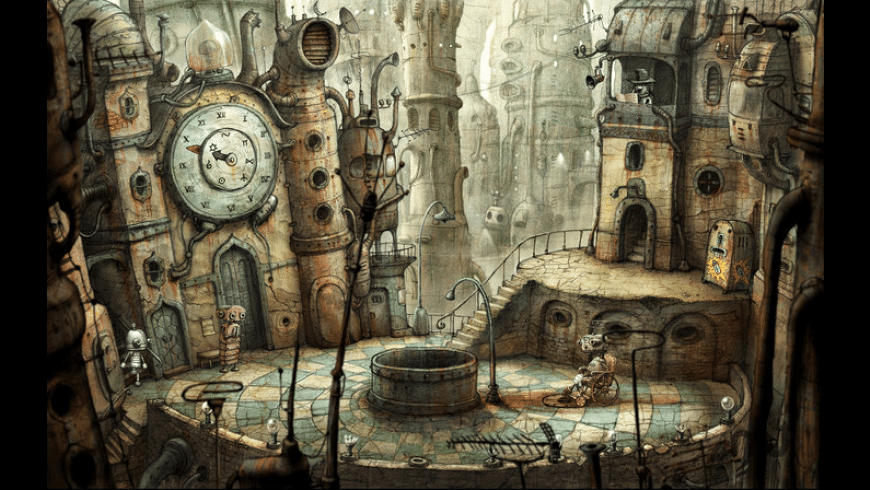 Machinarium: Collector's Edition for Mac - review, screenshots