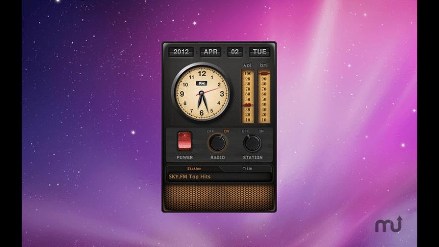Radio Clock for Mac - review, screenshots
