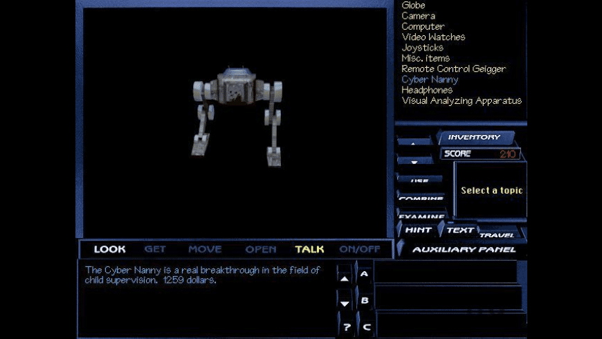 Tex Murphy: The Pandora Directive for Mac - review, screenshots