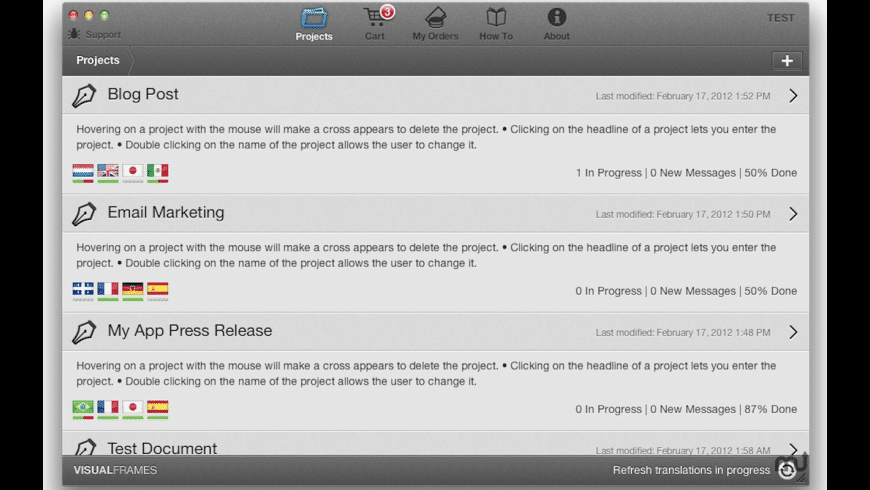 Traducto for Mac - review, screenshots
