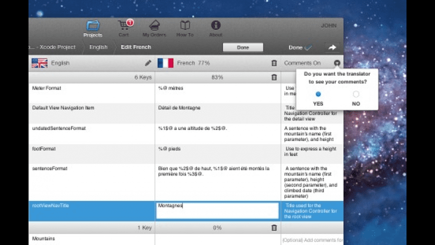 TraductoPro for Mac - review, screenshots