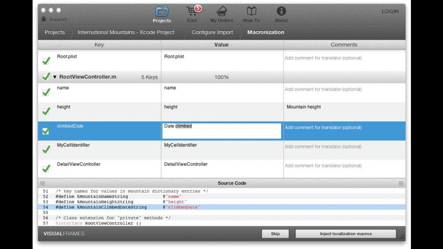 TraductoPro for Mac - review, screenshots