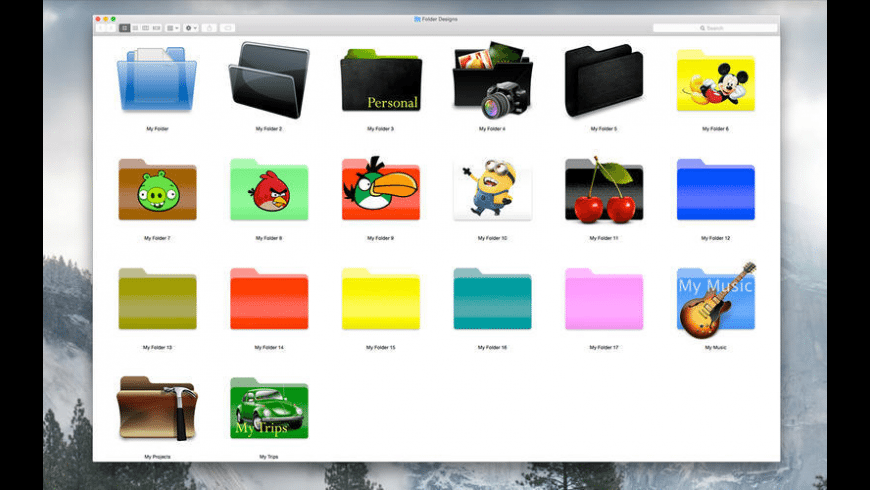 Folder Factory for Mac - review, screenshots