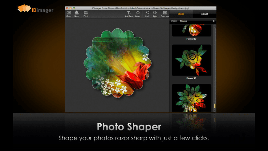 Picture Shapes for Mac - review, screenshots