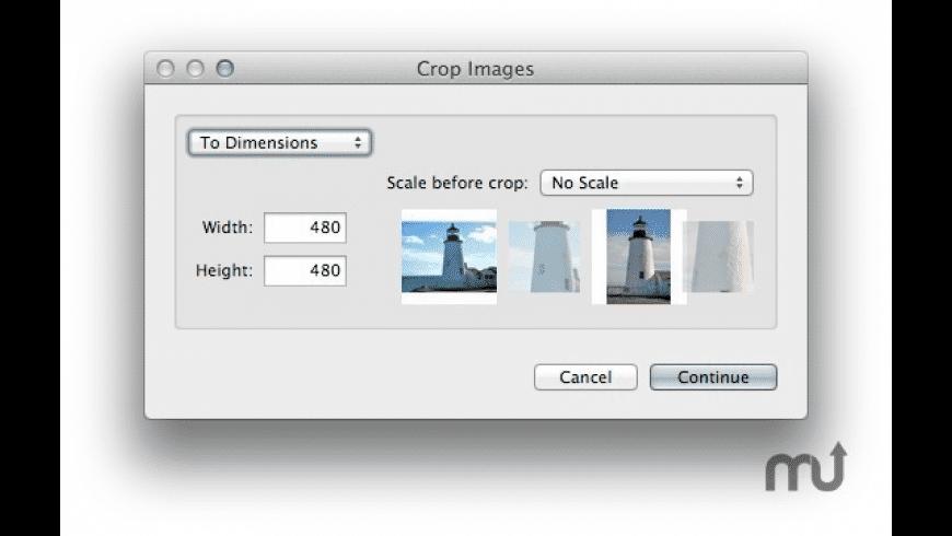 iCrop for Mac - review, screenshots