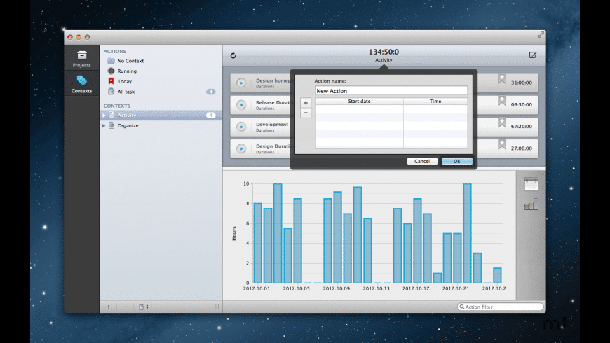 Durations for Mac - review, screenshots