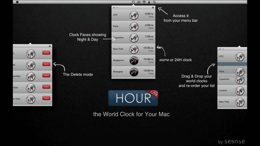 Hour for Mac - review, screenshots