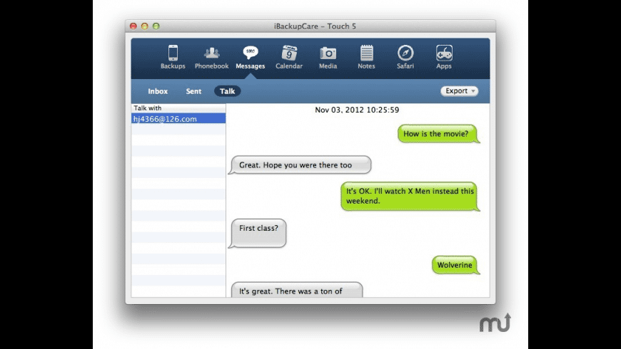iBackupCare for Mac - review, screenshots