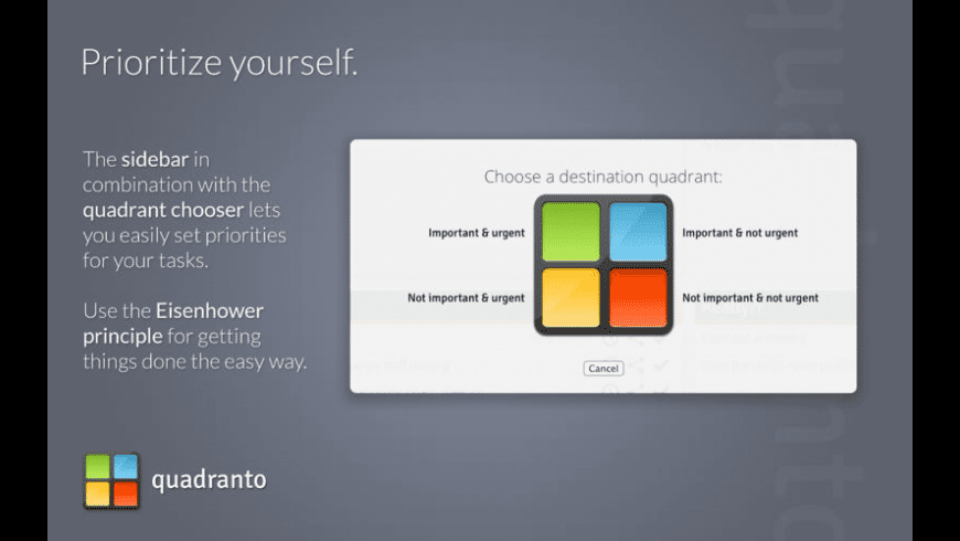 Quadranto for Mac - review, screenshots