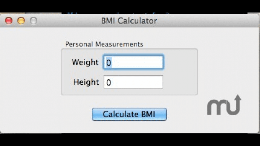 BMI Calculator for Mac - review, screenshots