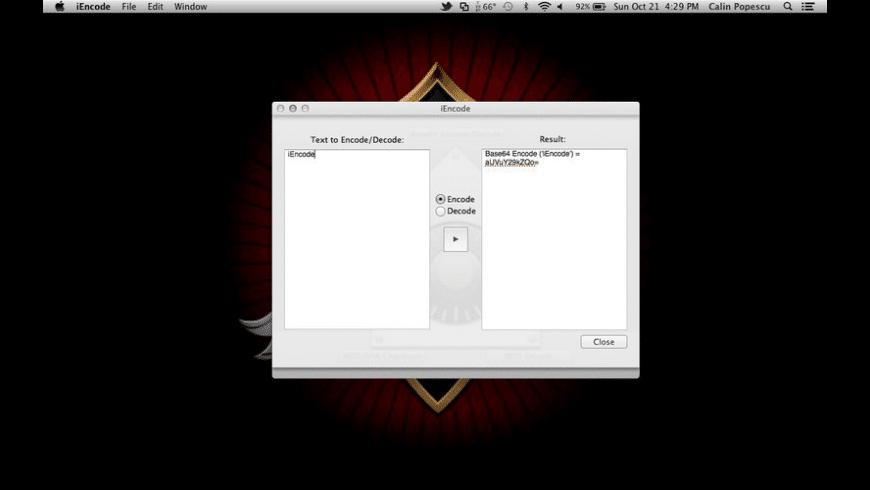 iEncode for Mac - review, screenshots