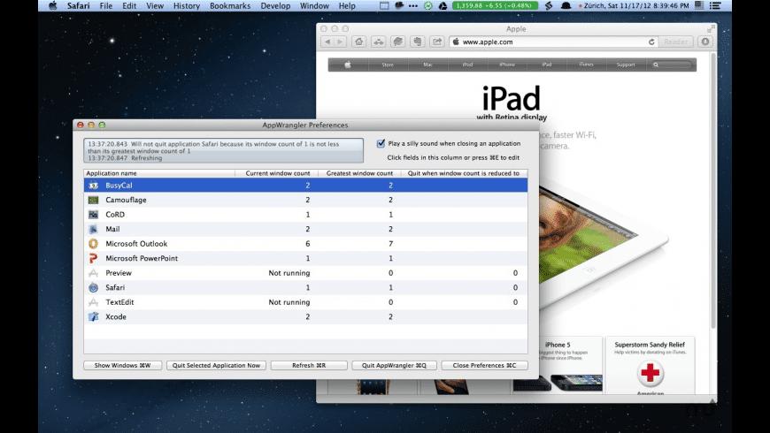 AppWrangler for Mac - review, screenshots