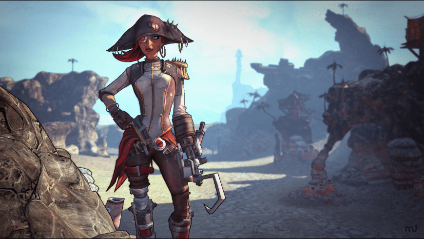 Borderlands 2: Captain Scarlett for Mac - review, screenshots
