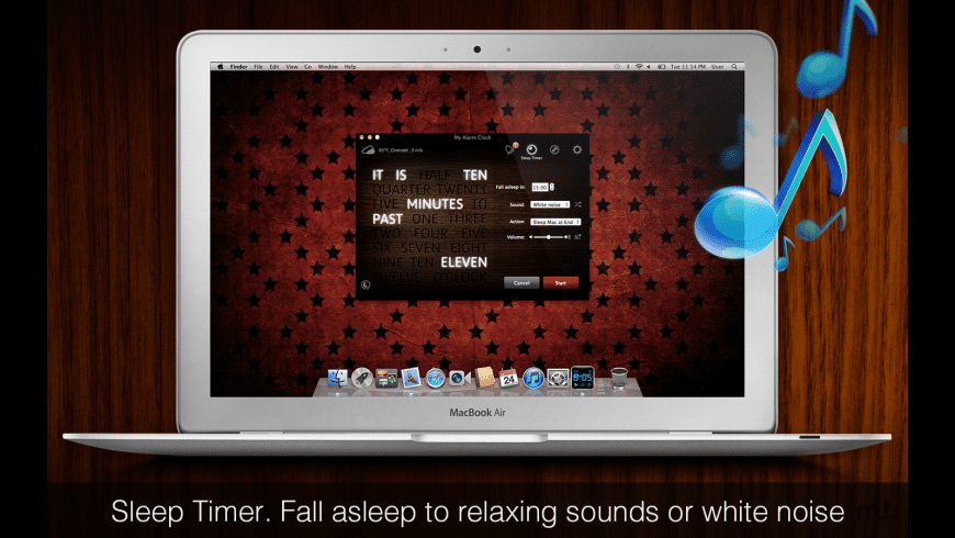 My Alarm Clock for Mac - review, screenshots