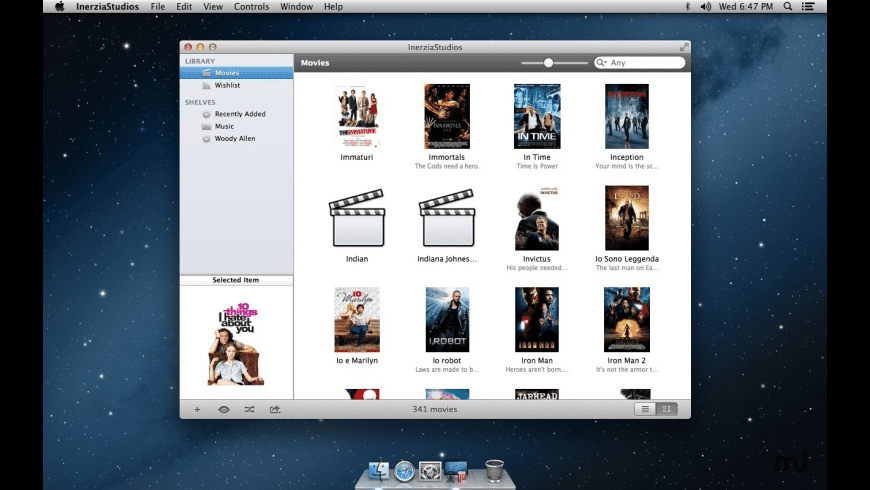 InerziaStudios for Mac - review, screenshots