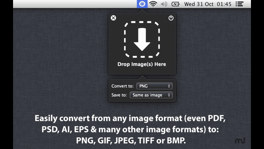 Easy Image Converter for Mac - review, screenshots