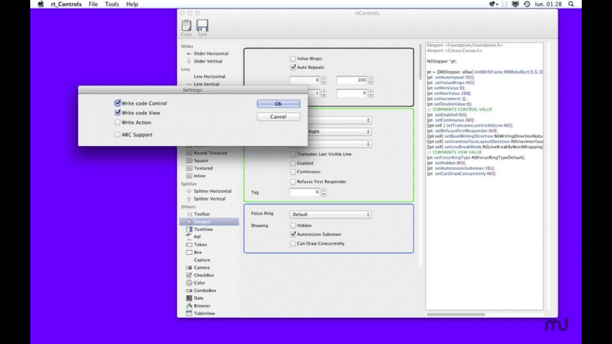 RtControls for Mac - review, screenshots