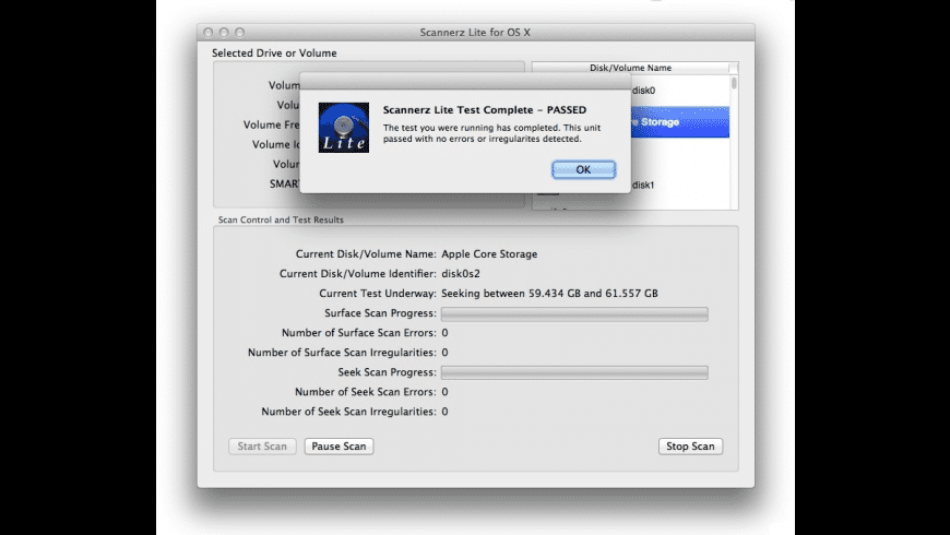 Scannerz Lite for Mac - review, screenshots