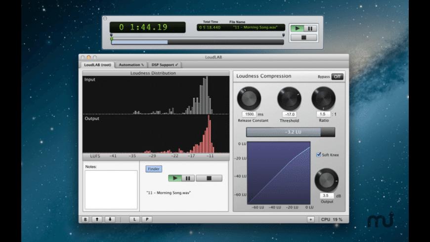 LoudLAB for Mac - review, screenshots